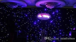 wedding backdrop led 3x6 meters led curtain led cloth dj effect wedding