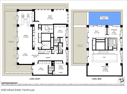 pent house plan house design plans