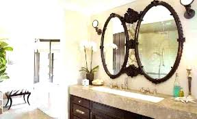 large framed bathroom mirrors large wood framed mirror freeiam