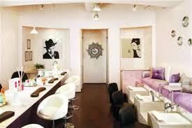 Romantic Canadian Salon Shines With Dreamy Details Style Nails - Nail salon interior design ideas
