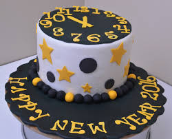 Cake Decorations For New Year by Happy New Year 2016 Cake Youtube