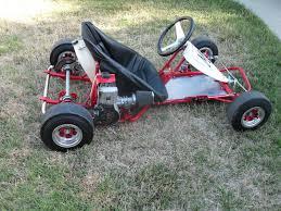 kart margay cheetah mk 1 and a 91 mcculloch vintage karts