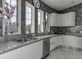 gray backsplash kitchen 30 gray and white kitchen ideas designing idea