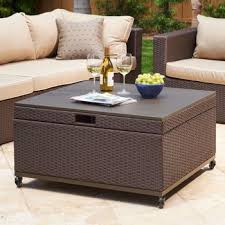 outdoor coffee table with storage inspiration for patio coffee table with storage newport patio