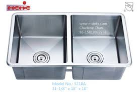 18 10 stainless steel kitchen sinks china 50 50 small rounded corners handmade stainless steel kitchen