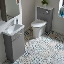 R2 Bathroom Furniture Contour Single Door Cabinet White R2 Bathrooms