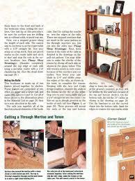 Arts Crafts Bookcase Arts And Crafts Bookcase Plans U2022 Woodarchivist