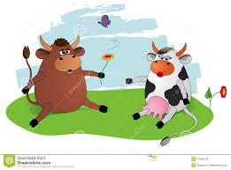 bull and cow clipart clipartxtras