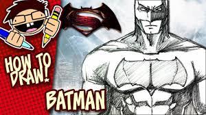 draw batman batman superman dawn justice step