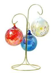 glass eye studio mt st helens ash glass ornaments baker s dozen