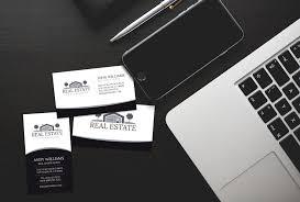 elegant real estate business card j32 design