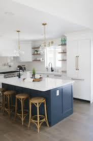 are blue cabinets trendy 30 gorgeous blue kitchen decor ideas digsdigs