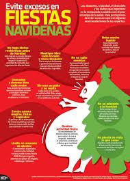 infografía evite excesos en fiestas navideñas
