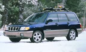 2001 Honda Crv Roof Rack by Subaru Forester Auto Shows News Car And Driver