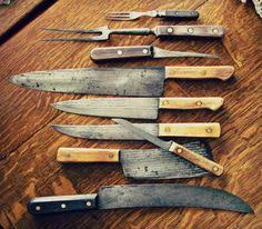 carbon steel kitchen knives for sale set of forged damascus chef knives knives and chefs