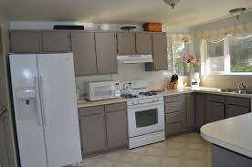 painted kitchen cabinets before and after grey kitchen cabinet