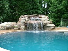 pools with waterfalls swimming pool waterfall designs with waterfalls unique