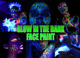 glow paint in the paint individual by color