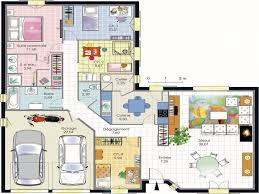 plain pied 4 chambres chambre plan maison 4 chambres plan maison 4 chambres plain