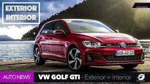 Gti Interior 2018 Volkswagen Vw Golf Gti Interior Exterior New Design