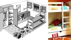 comment am駭ager une chambre de 12m2 superbe comment amenager une chambre de 12m2 4 plan appartement