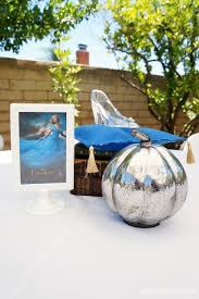 Cinderella Centerpieces Cinderella Movie Party With Butterflies Diy Inspired