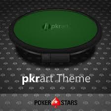 pkrart pokerstars theme pkrart com