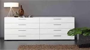 Ready Assembled White Bedroom Furniture Tvilum Austin 8 Drawer Dresser White Youtube