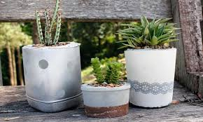 15 lovey diy plant pots you can make from recycle items u2013 home and