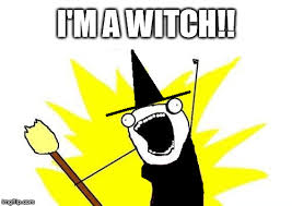 Broom Meme - she held that broom for 5 years and no one noticed she was a witch