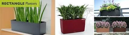 planters indoor modern planter boxes fiberglass tall length pots