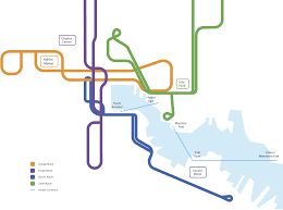 Baltimore Bus Routes Map The Multi Modal City