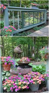 Diy Craft Projects For The Yard And Garden - 40 simple yet sensational repurposing projects for old windows