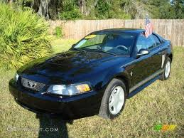 2003 Black Mustang 2003 Black Ford Mustang V6 Coupe 522302 Photo 3 Gtcarlot Com