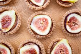 spiced chocolate tarts with fresh figs earth powered family