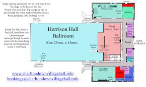 hall floor plan u2013 charlton down village hall