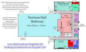 hall floor plan u2013 charlton down village hall