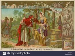 eleazar servant of abraham on finding rebecca wife for abraham