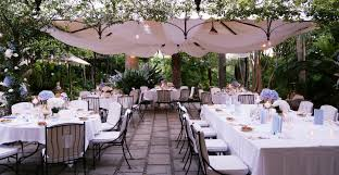 brilliant garden for wedding reception garden wedding decor