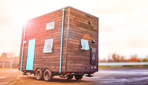 the warm and modern bunk box tiny house on wheels