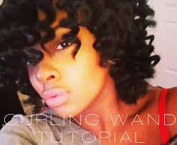 wand curl styles for short hair curling wand on natural hair youtube