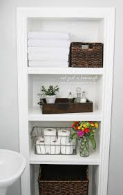 Wood Storage Shelf Designs by Best 25 Bathroom Storage Shelves Ideas On Pinterest Decorative