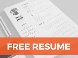 resume templates free free clean minimal resume template by mats forss dribbble