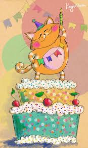 25 best gatos cumpleaños images on pinterest birthday wishes