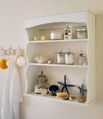 bathroom wall shelving ideas bright white interior decor modern minimalist bathroom completed