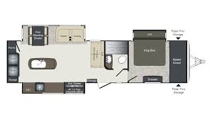 rockwood floor plans keystone laredo 335mk travel trailer floor plan