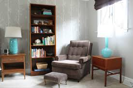 Best Chairs For Reading by Extraoridnary Reading Nook Design With Cool Grey Leather Chair And