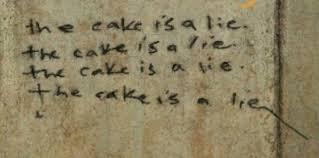 The Cake Is A Lie Meme - the cake is a lie mug make the cut forum