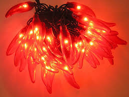Chili Pepper Outdoor Lights Chili Pepper String Lights Novelty Lights
