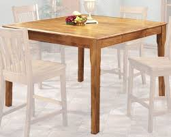 Intercon Solid Oak Counter Height Dining Table Cambridge INCBGTAB - Oak counter height dining room tables